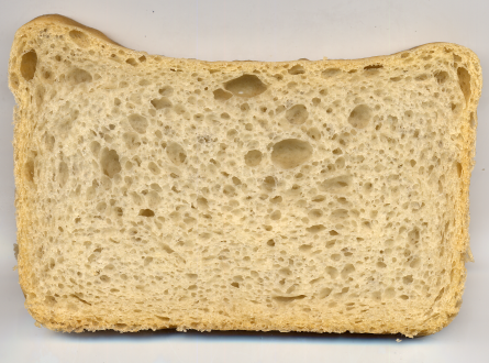 60% dough bread photo.