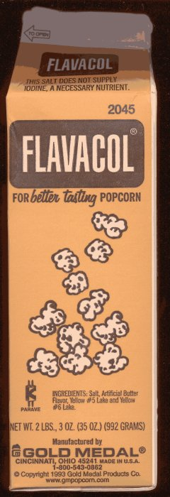 Secret ingredient of movie theatre popcorn?