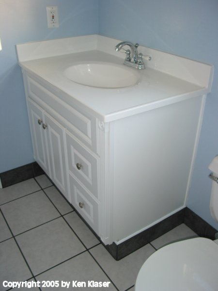 how hard is it to replace my bathroom sink    diy