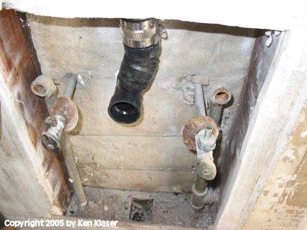 Remodeling Bathroom Slab Foundation bathroom remodel photo tour | conscious junkyard