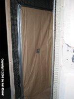 Shower Left Wall Preparation