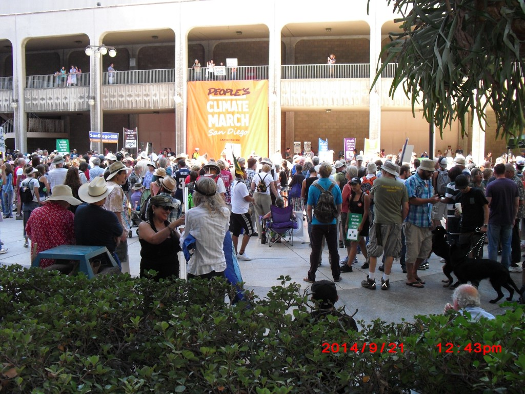 People's Climate March San Diego 2014